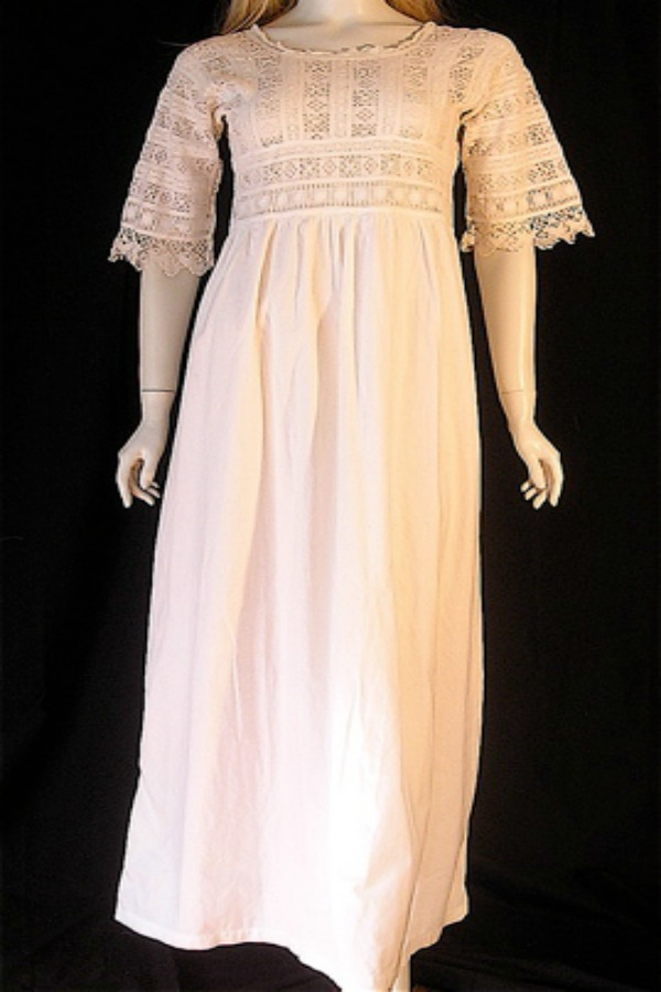 Edwardian era nightie