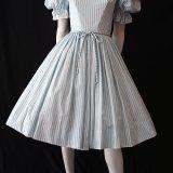 vintage 1950s cotton dress