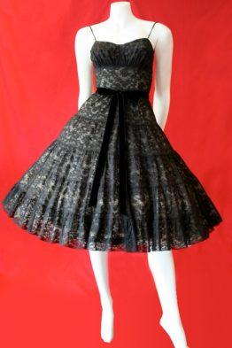 1950s cocktail dress