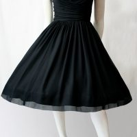 1950s black 1950s little black dress