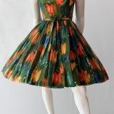 Vintage 50s cotton sundress