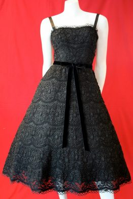 Vintage 1950s dress by Elanor's House