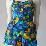 1950s cotton playsuit or swimsuit