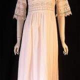 VintageEdwardian era cotton and lace nightie