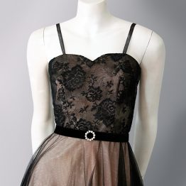 1950s Baker of Melbourne formal dress