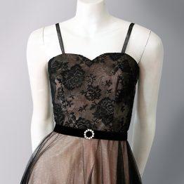 1950s Baker of Melbourne formal dress