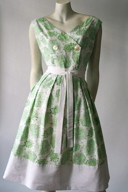 Vintage 50s cotton sun dress