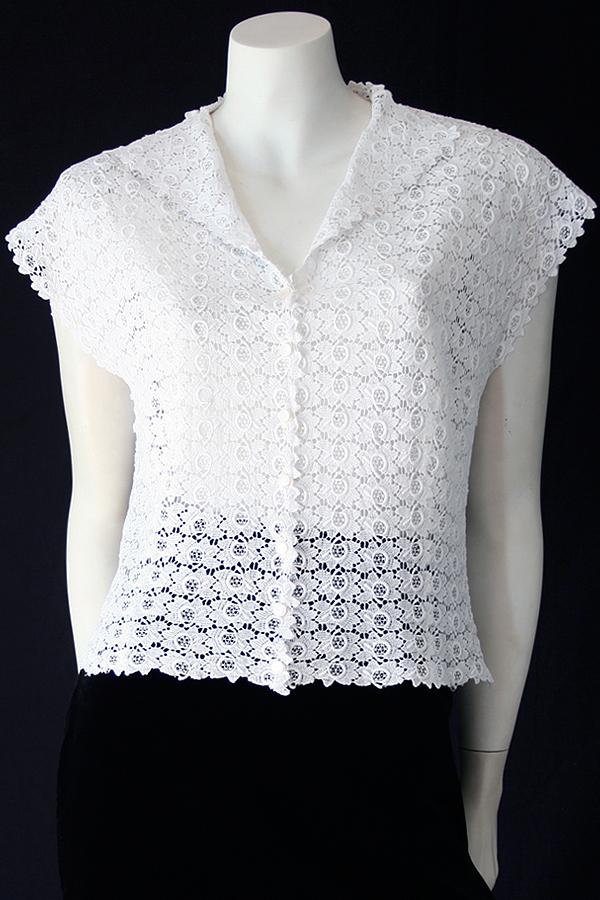50s white cotton lace blouse 600 x 900